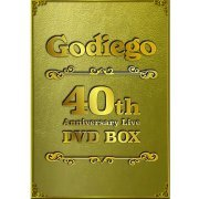 Godiego 40th Anniversary Live Dvd Box (Japan)