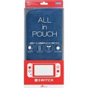 All in Pouch for Nintendo Switch (Blue) (Japan)