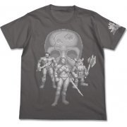 Golden Axe Player T-shirt Medium Gray (XL Size) (Japan)