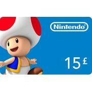 Nintendo eShop Card 15 GBP | EU Account  digital (Europe)
