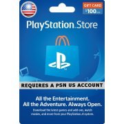 PSN Card 100 USD | Playstation Network US digital (US)