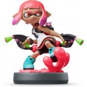 amiibo Splatoon Series Figure (Girl Neon Pink) (Japan)