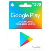Google Play Card (SGD200 / for Singapore accounts only) Digital (Singapore)