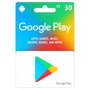 Google Play Card (SGD30 / for Singapore accounts only) digital (Singapore)
