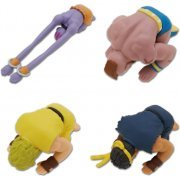 Street Fighter II: Kneeling on Ground Strap 2.0 (Set of 4 pieces) (Japan)