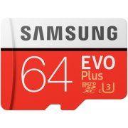 Samsung microSDXC EVO Plus 64GB Kit, UHS-I U3/Class 10 (2017)