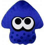 Splatoon 2 Plush: Bright Blue Squid Cushion (Japan)