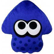 Splatoon 2 Plush: Bright Blue Squid Cushion (Japan)