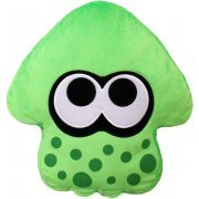 Splatoon 2 Plush: Neon Green Squid Cushion (Japan)