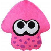 Splatoon 2 Plush: Neon Pink Squid Cushion (Japan)