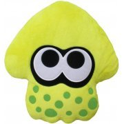 Splatoon 2 Plush: Neon Yellow Squid Cushion (Japan)