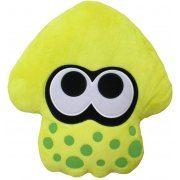 Splatoon 2 Plush: Neon Yellow Squid Cushion (Japan)