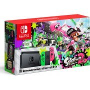 Nintendo Switch Splatoon 2 Set (Neon Green / Neon Pink) (Japan)