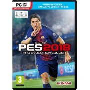 Pro Evolution Soccer 2018 (DVD-ROM) (Europe)
