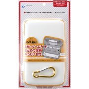 Semi Hard Case for New 2DS LL (White x Orange) (Japan)
