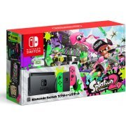 Nintendo Switch Splatoon 2 Set (Neon Green / Neon Pink) (Asia)