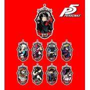 Persona 5 Trading Emblem Acrylic Key Holder (Set of 9 pieces) (Japan)