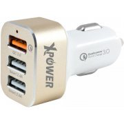 Xpower CC3Q 3 Port USB Quick Charge 3.0 Car Charger (Gold)