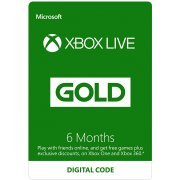 Xbox Live Gold 6 Month Membership GLOBAL (Region Free)