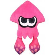 Splatoon 2 All Star Collection Plush: Big Squid Neon Pink (Re-run) (Japan)