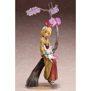 Vocaloid 1/8 Scale Pre-Painted Figure: Kagamine Rin -Hanairogoromo- (Japan)