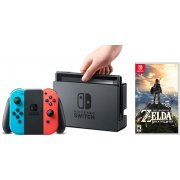 Nintendo Switch: The Legend of Zelda Sleeved Bundle (Neon Blue / Neon Red) (Asia)