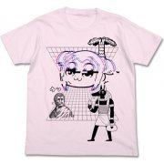 "Pop Team Epic ""Kusowave"" T-shirt Light Pink (L Size) (Japan)"