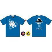 "Splatoon 2 ""Wet Floor"" Band T-shirt (XS Size) (Japan)"