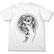 "Pop Team Epic ""Spinner"" T-shirt White (L Size) (Japan)"