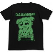 "Pop Team Epic ""Damn"" T-shirt Black (XL Size) (Japan)"