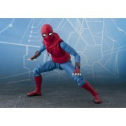 S.H.Figuarts Spider-Man Homecoming: Spider-Man Homemade Suit Ver. & Tamashii Act Wall Set (Asia)