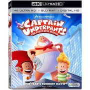 Captain Underpants: The First Epic Movie [4K Ultra HD Blu-ray] (US)