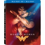 Wonder Woman 3D (2-Disc) (Steelbook) (Hong Kong)