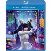 Ghost In The Shell [Blu-ray+DVD+Bonus Blu-ray Set Limited Edition] (Japan)