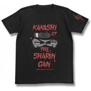 Naruto Shippuden: Kakashi Of The Sharingan T-shirt Black (S Size) (Japan)