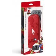 Nintendo Switch Carrying Case & Screen Protector (Super Mario Odyssey Edition) (Japan)