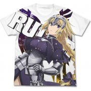 Fate/Apocrypha - Ruler Full Graphic T-shirt White (L Size) (Japan)