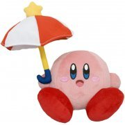 Kirby All Star Collection Plush: Parasol Kirby (Japan)