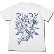 Rwby - Weiss Schnee T-shirt White (L Size) (Japan)