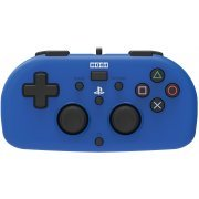 Hori Wired Controller Light for PlayStation 4 (Blue) (Japan)