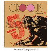 Persona 5 Croquis Sketch Book - Protagonist Design (Japan)