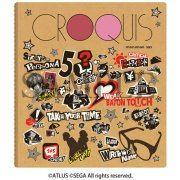 Persona 5 Croquis Sketch Book - Motif Design (Japan)