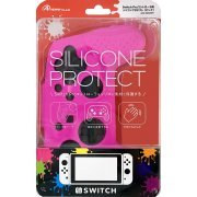 Silicon Protector for Nintendo Switch Pro Controller (Pink) (Japan)