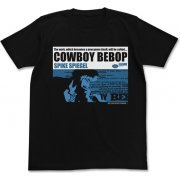Cowboy Bebop - Spike Spiegel T-shirt Jacket Ver. Black (XL Size) (Japan)