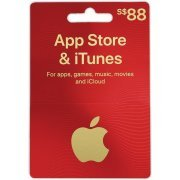 iTunes Card (SGD 88 / for Singapore accounts only) (Singapore)