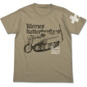 Girls' Last Tour - Kettenkrad Vintage T-shirt Sand Khaki (XL Size) (Japan)