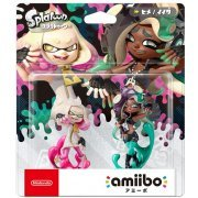 amiibo Splatoon 2 Series Figure (Hime & Ida) (Japan)