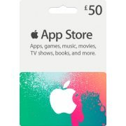 iTunes Card (GBP 50 / for UK accounts only) (Europe)