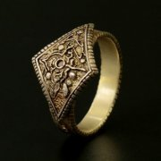 Dark Souls × TORCH TORCH / Ring Collection: Men's Ring Of Favor (M Size) (Japan)