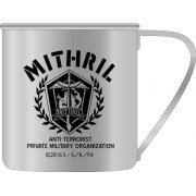 Full Metal Panic! IV - Anti-Terrorist Private Military Organization Mithril Stainless Steel Mug Cup (Japan)